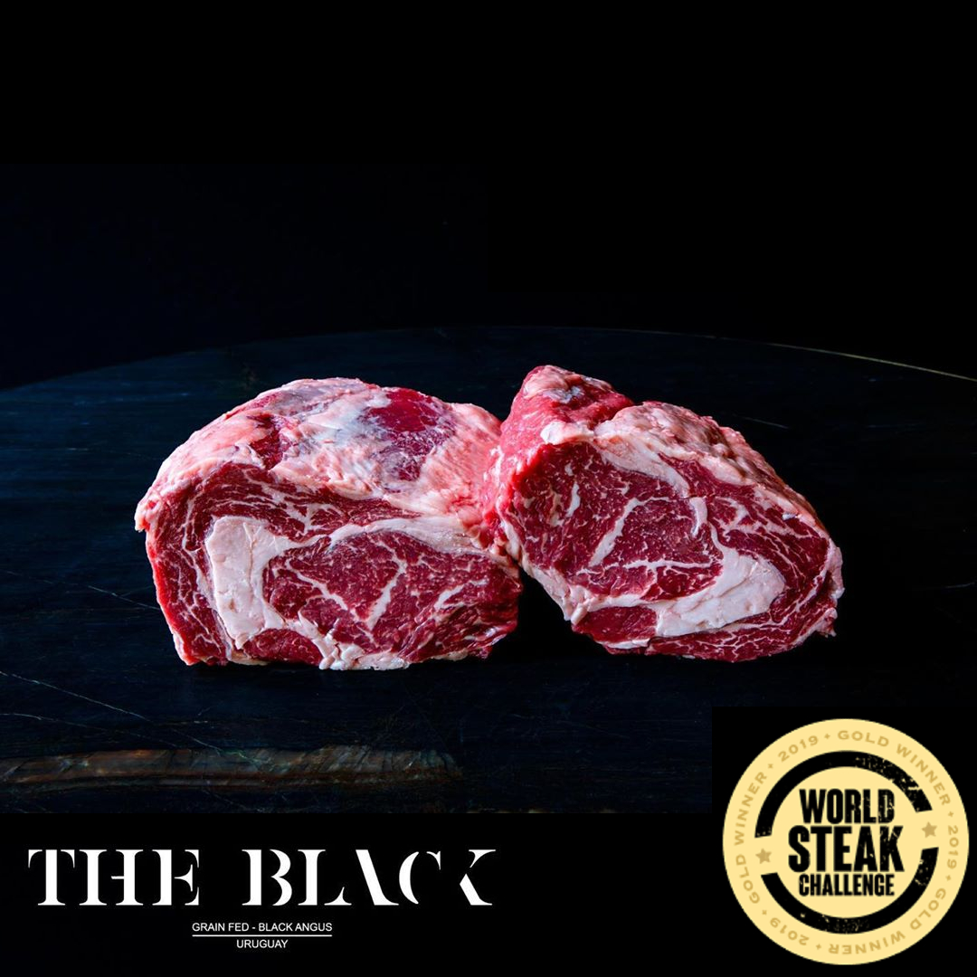 Okse Ribeye, Black Angus, Uruguay, The Black, Guldvinder af World Steak Challenge 2019