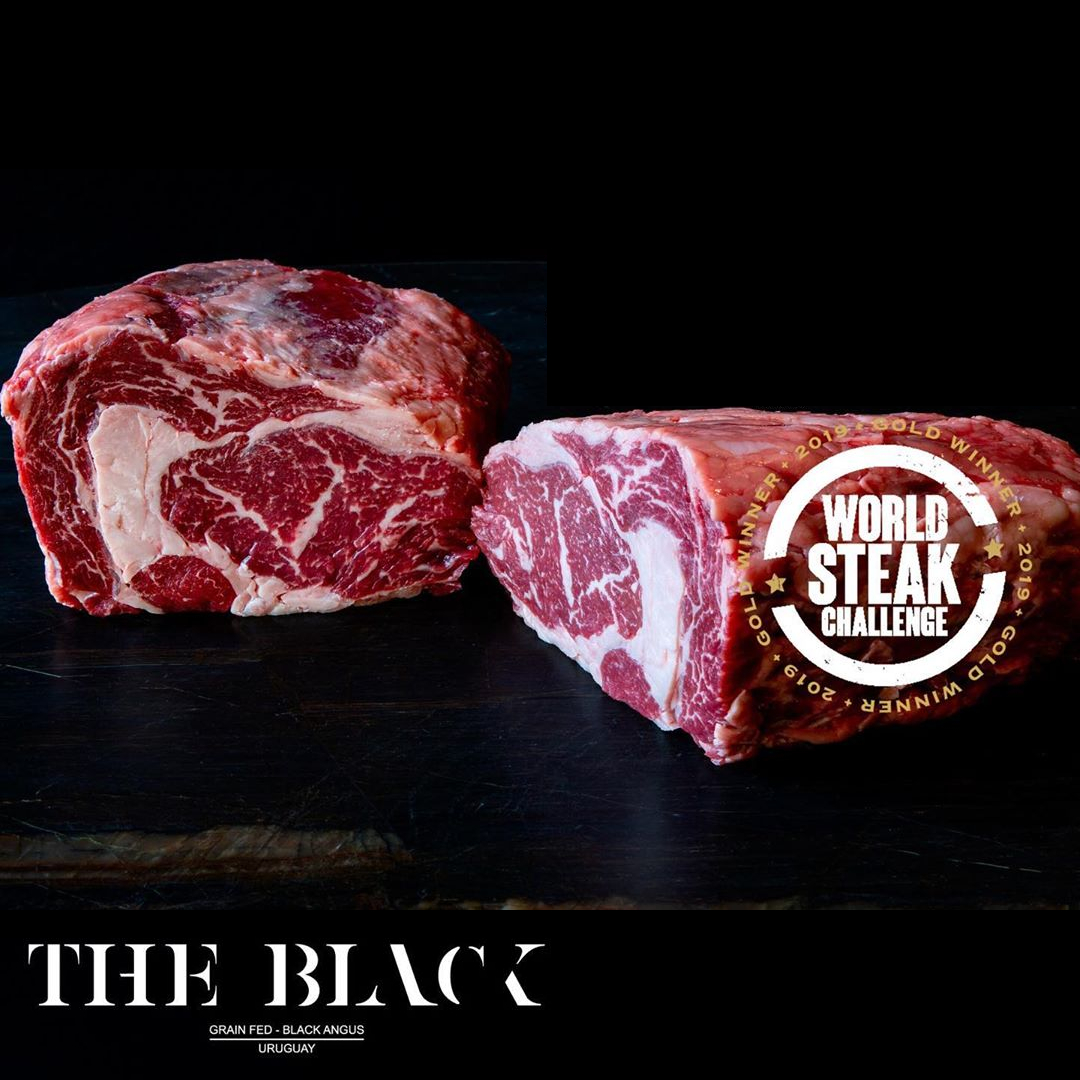 Ribeye, Black Angus, Uruguay, The Black